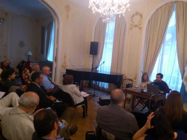 Exposición del Dr. Fernando Guerrieri