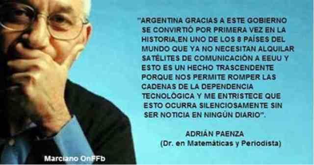 Reflexión de Adrián Paenza